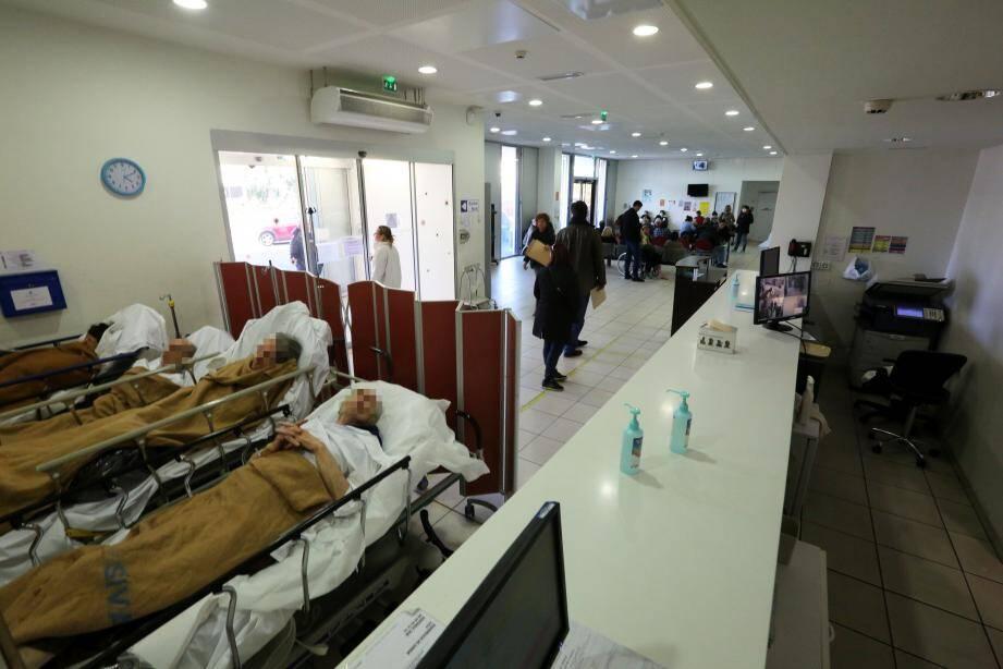 Les urgences de l'hôpital Sainte-Musse