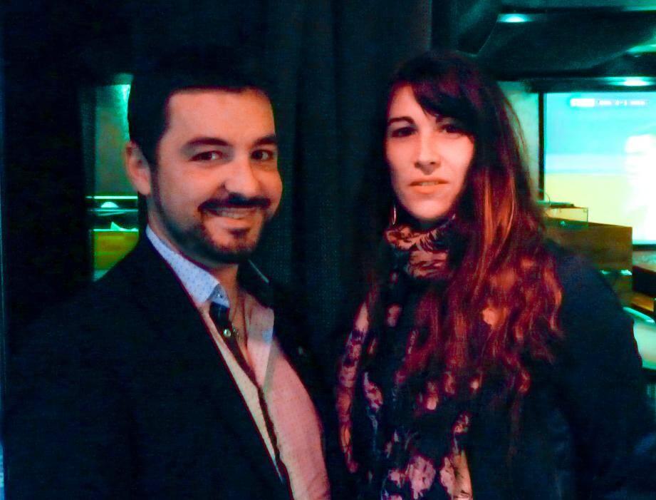 Alexis Boudaud Anduaga et Laure-Nelly Amalric, secrétaire générale du Mouvement 100 %.