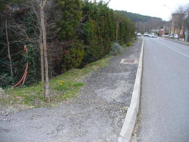 Du monument des Lorguais jusqu'au Vallon, un trottoir sera construit ou réaménagé pour sécuriser les piétons.