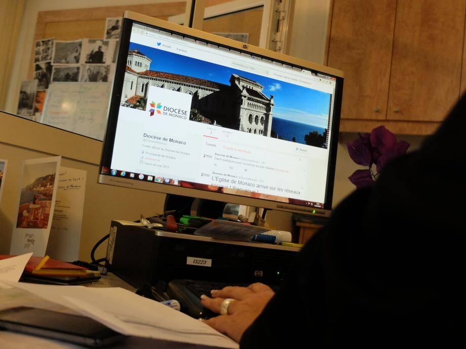 Depuis mercredi, le diocèse est présent sur les réseaux sociaux.
