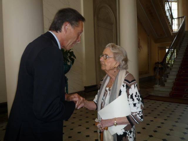Le 23 juillet 2011, à l'Eden résidence, le maire Xavier Beck avait rendu hommage à Henriette Meillier qui fêtait alors ses 100 ans.