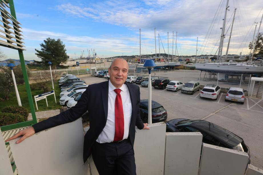 Selon Christophe Hirsinger, directeur du projet pour Bouygues Travaux public, la seconde phase du projet restera bien dans le Var.