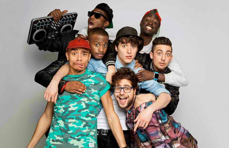Des humoristes de talent accompagnés par des sons hip-hop.