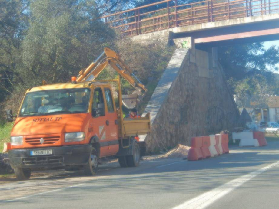 Les travaux perturberont la circulation pendant un mois.
