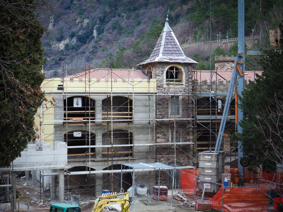 À l'automne prochain, le château de la Causega ouvrira ses portes aux familles, fragilisées par la maladie, mais aussi aux habitants de la vallée.