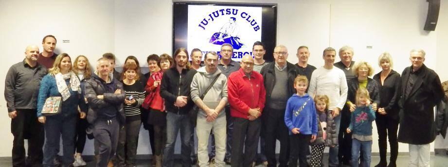 Pratiquants actuels ou anciens sont venus en nombre célébrer l'anniversaire du club.