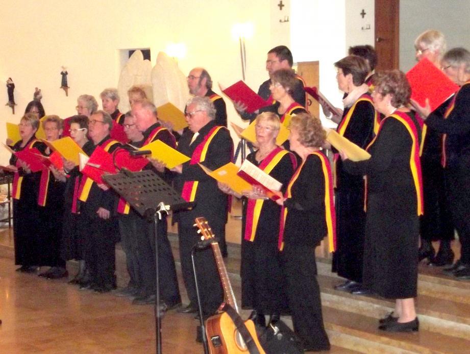 La chorale mandréenne Alléluia a ouvert un concert de qualité.