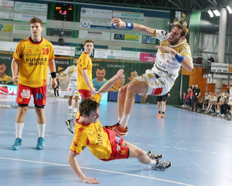 Après la défaite face à GOG samedi dernier (32-36), Raphaël Caucheteux et le SRVHB ont bien l'intention de se reprendre face à Aix, en championnat.