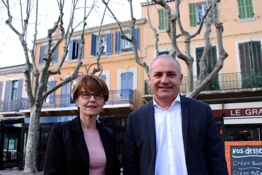 « Nous essayons de répartir le plus équitablement possible l'argent public, avec la plus grande justice », précisent Andrée Samat et Marc Lauriol, élus au conseil départemental sur le canton de Saint-Cyr.