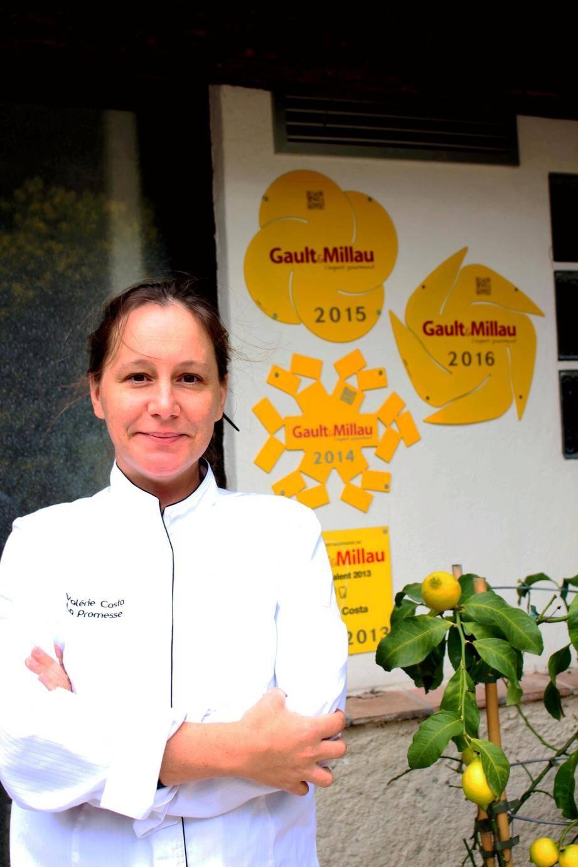 Découverte par Gault et Millau, Valérie Costa attend désormais d'être consacrée par Michelin.