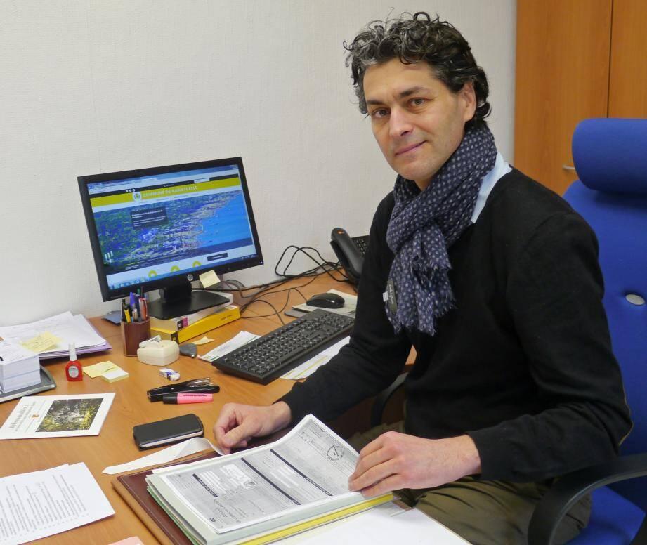 Christian-Jacques Gaël, nouveau directeur général des services de la commune arrive de Bourg-les-Valence.