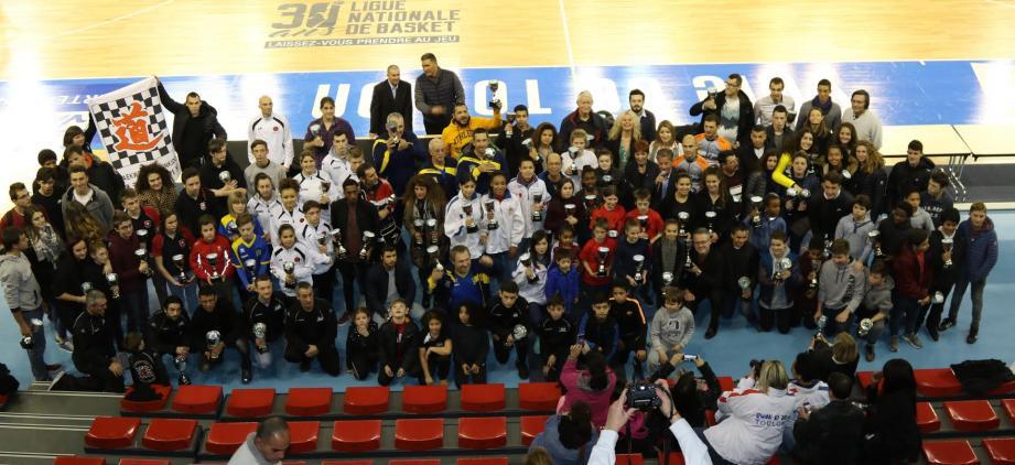 Des titres départementaux, régionaux, nationaux, européens, mondiaux, jusqu'à la médaille de bronze olympique de Gérard Joachim, les Toulonnais peuvent être fiers de leurs champions.