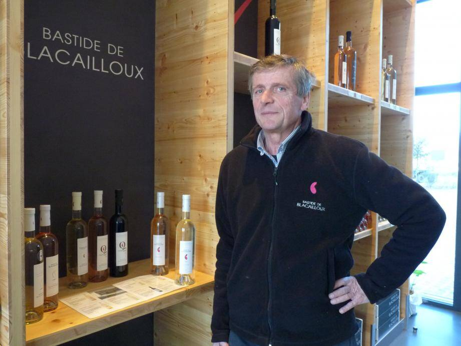 Bruno Chamoin : « Nous ne cherchons pas à produire beaucoup. Nous cherchons à faire un vin de qualité. »