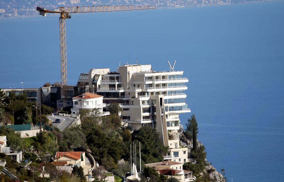 Le Vista Palace, perché au-dessus de la mer.