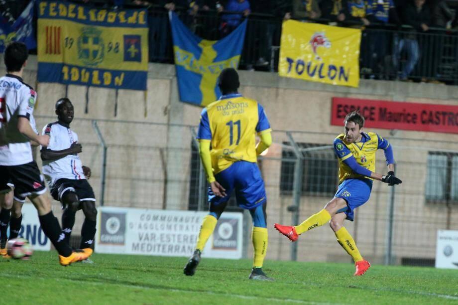 Après le derby face à l'Étoile, Moulet et les Toulonnais sont motivés comme jamais.