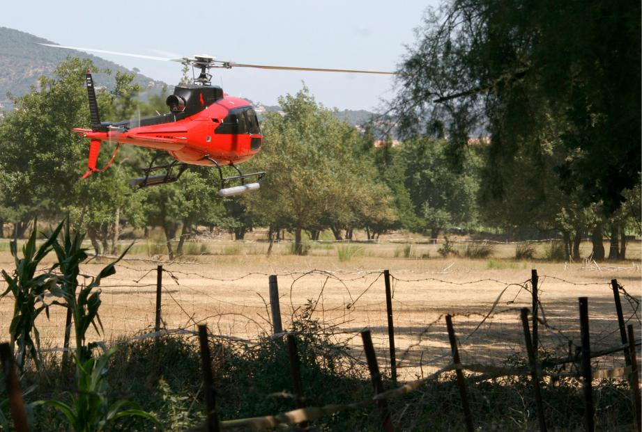 Les appareils décollent depuis des hélisurfaces dites responsables, sur terre. Mais la solution n'est pas la plus parfaite.