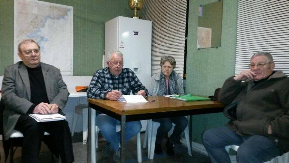 Une partie des membres du bureau de La Gaule de l'Estérel lors de la dernière assemblée générale.(DR)