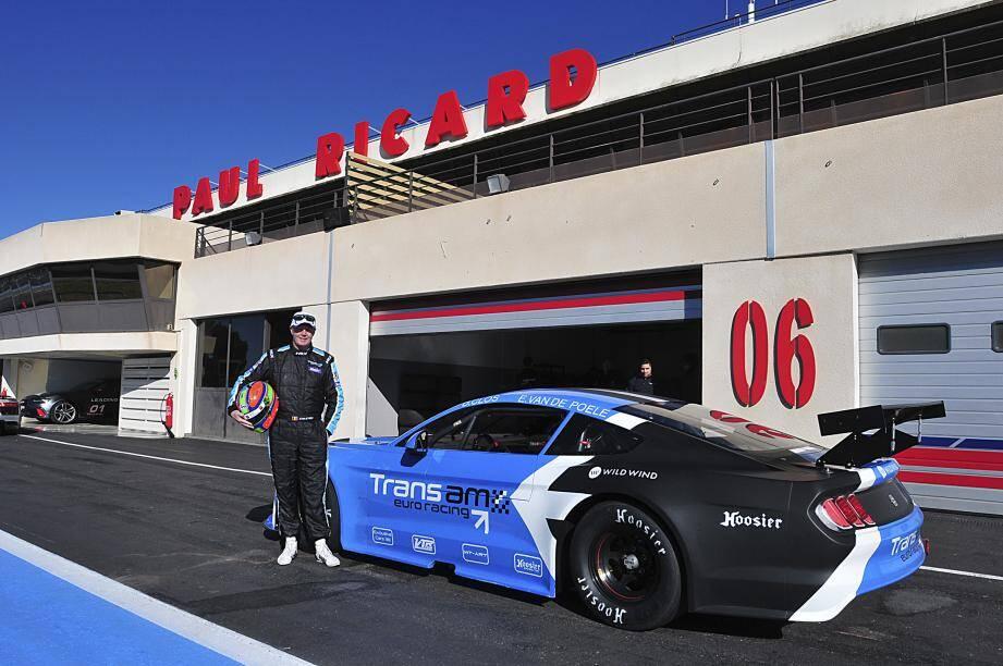 Testée et approuvée par Eric Van de Poele, la Transam Euro Racing - ici en mode Mustang - part à la conquête du Vieux Continent.