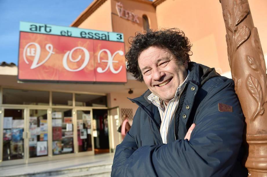 Jean-Marie Charvet, responsable des cinémas Le Lido et Le Vox, est depuis des décennies le Monsieur cinéma de l'agglo.