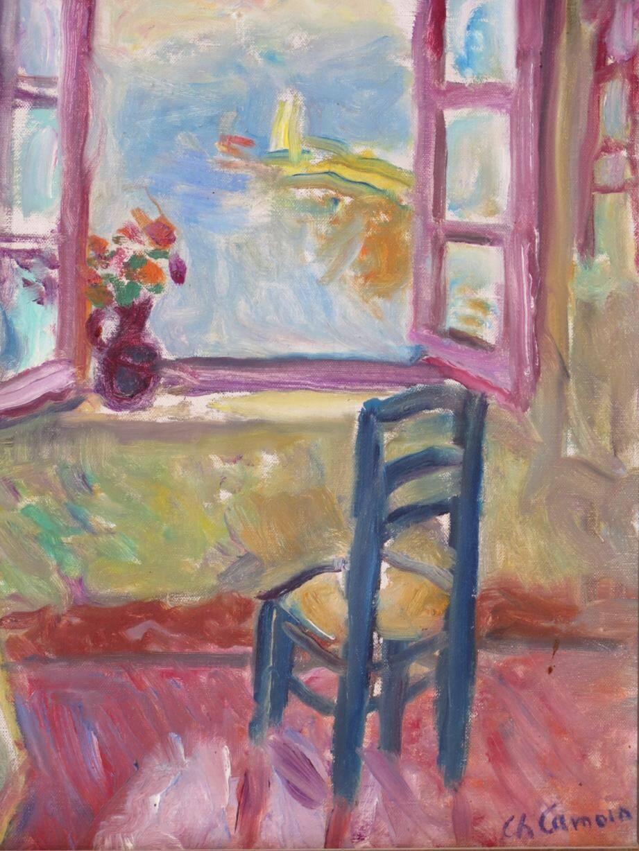 Ce tableau de Charles Camoin figure parmi les œuvres mises aux enchères samedi.(DR)
