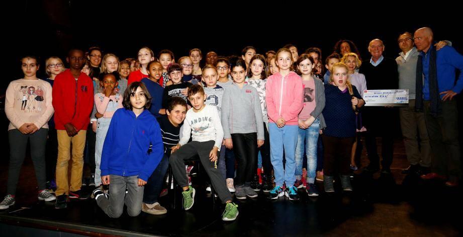 Une des dernières répétitions pour l'association Peter Pan et leur opéra.