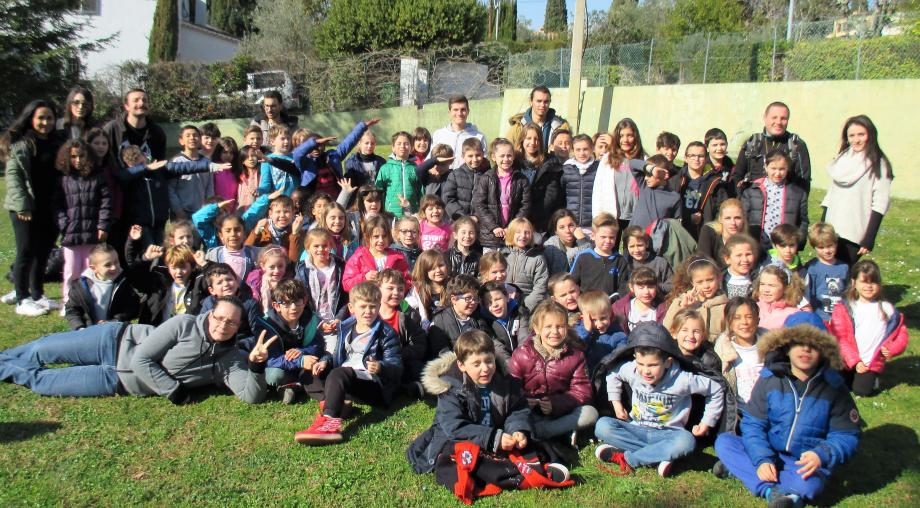 Entre 80 et 100 enfants ont fréquenté quotidiennement le centre de loisirs des Oiseaux au complexe Roger-Duhalde.