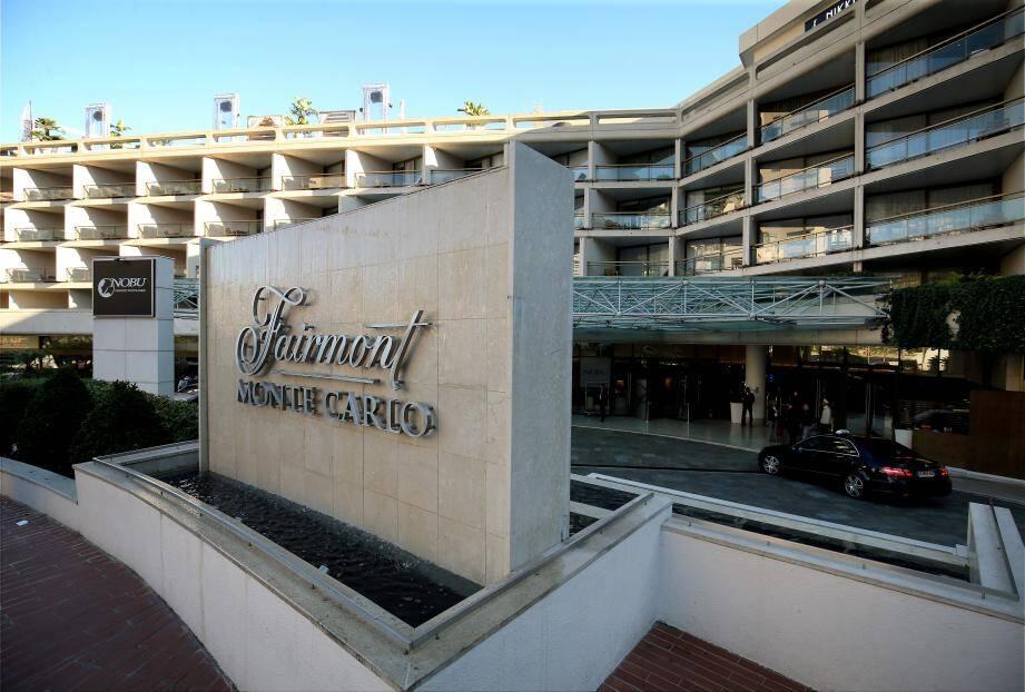 L'hôtel Fairmont Monte Carlo.