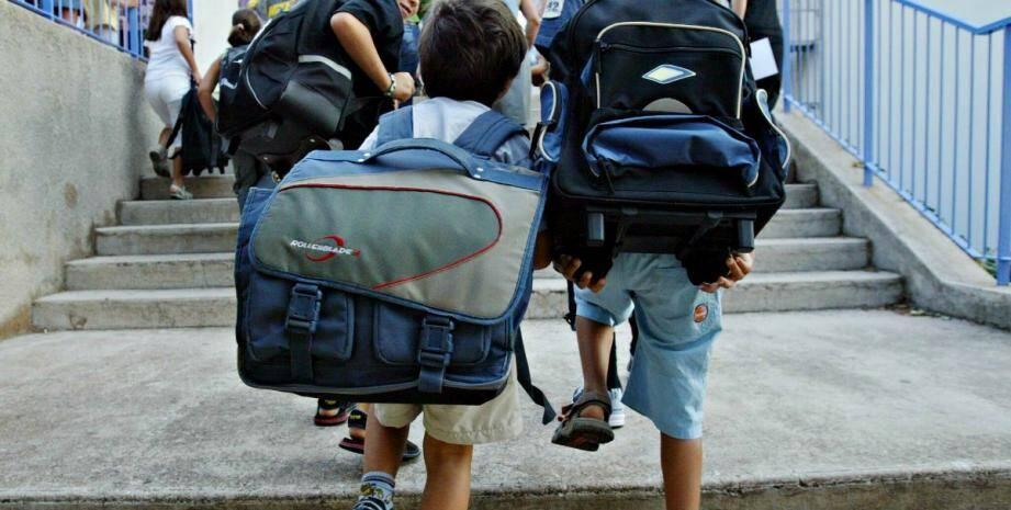 Les rythmes  scolaires vont changer à la rentrée 2017 dans les écoles niçoises.