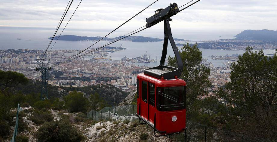 Le téléphérique de Toulon