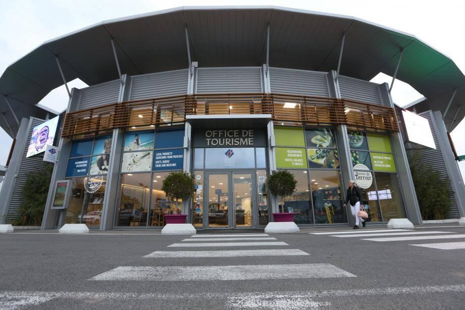 L'office du tourisme de Roquebrune-sur-Argens