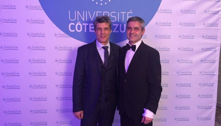 Le président de l'UCA et de la Fondation unissent leur force pour plus de puissance universitaire.