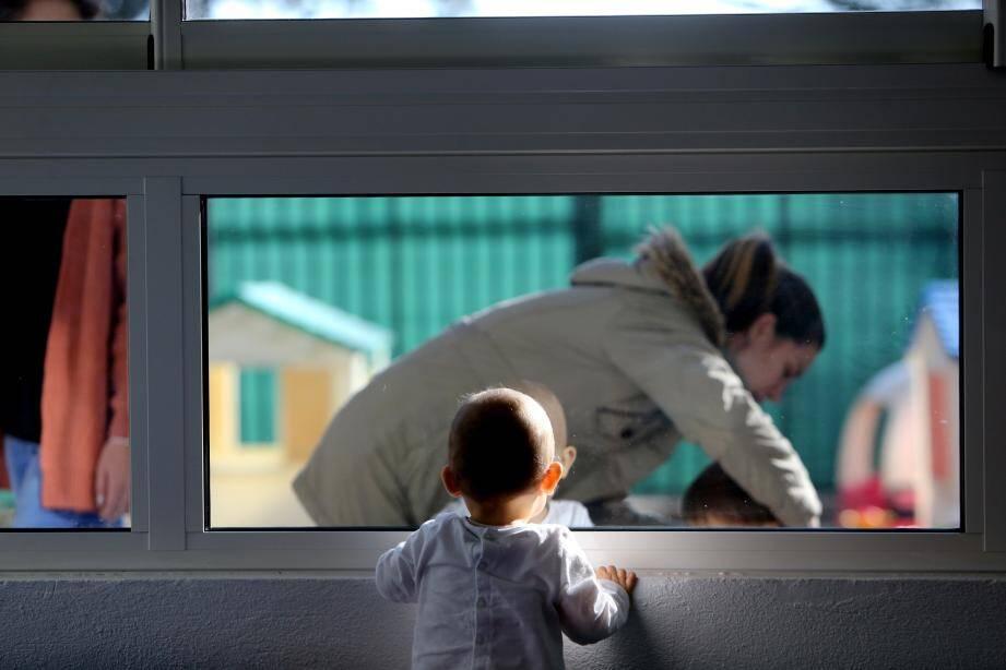 La pouponnière accueille les enfants jusqu'à 17 mois.