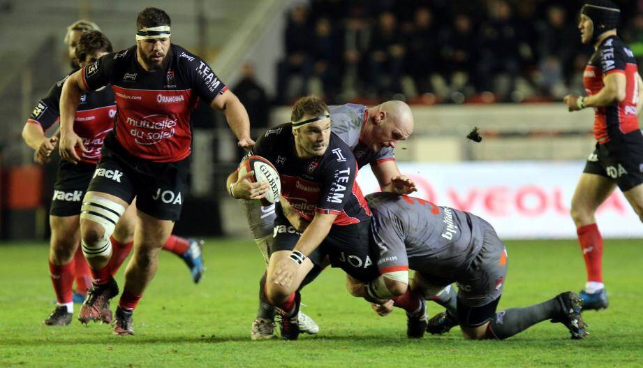 Rugby Top 14RCtoulon/ Lyon