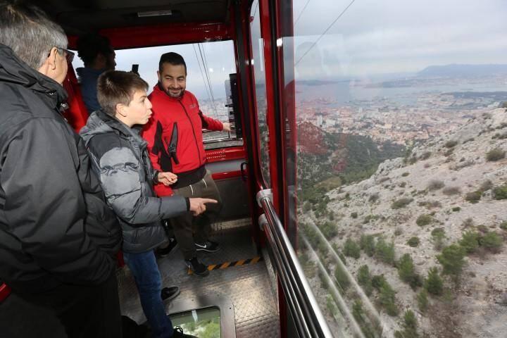 Le nouveau téléphérique de Toulon