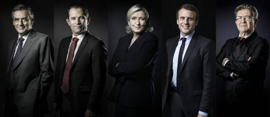 Les candidats à l'élection présidentielles