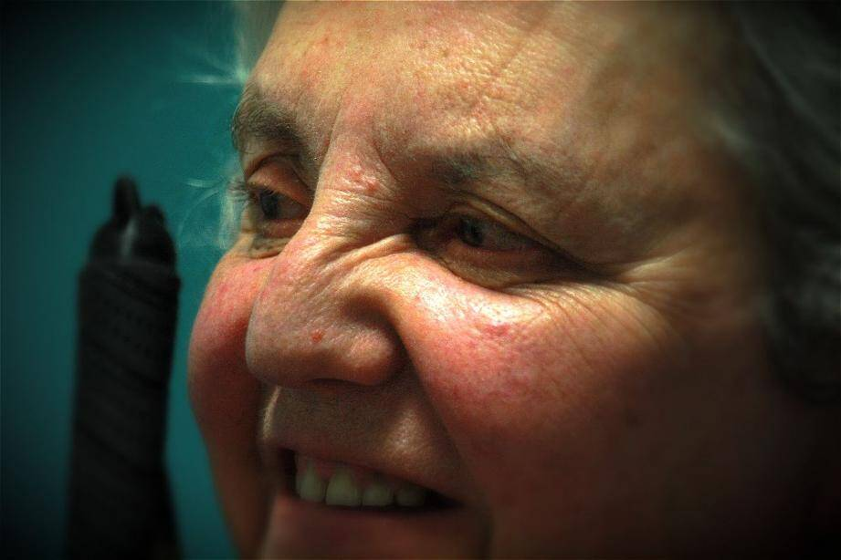 Comme Simone Dozon-Colpi, la plupart des membres actifs de Retina sont concernés par un handicap visuel.