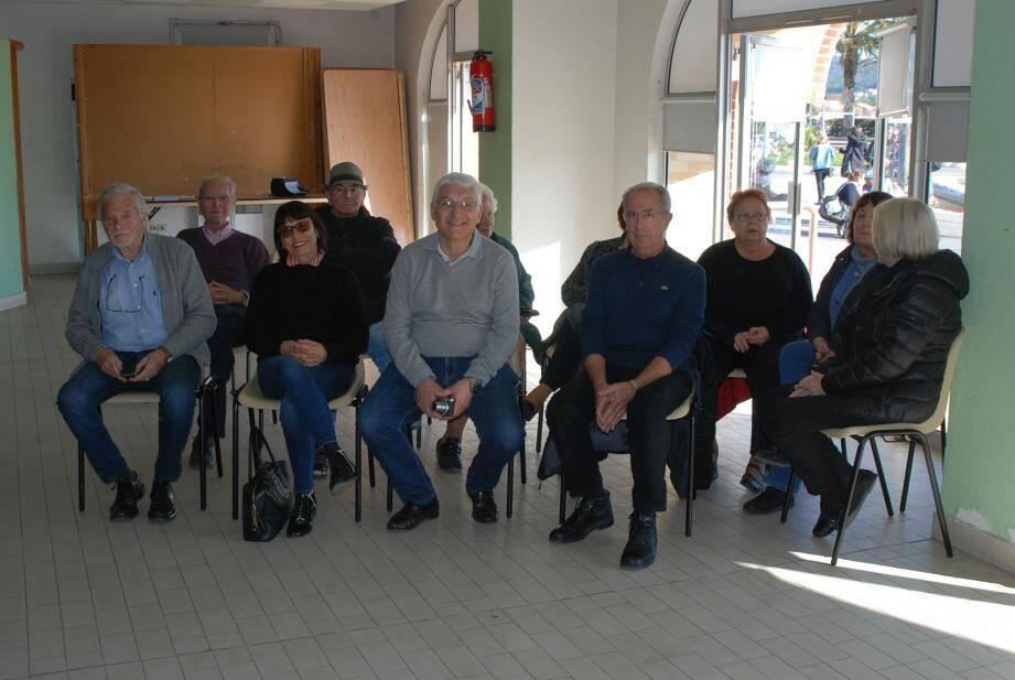 Les participants sont venus en nombre pour cette séance d'initiation.