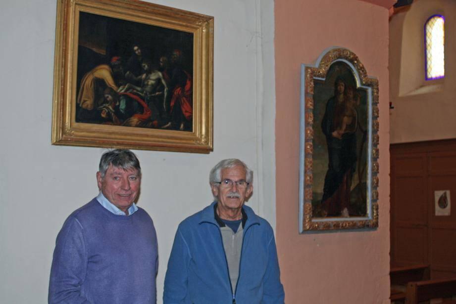 Daniel Battut (à droite) et Jacques Verdier font confiance au public pour soutenir leur projet