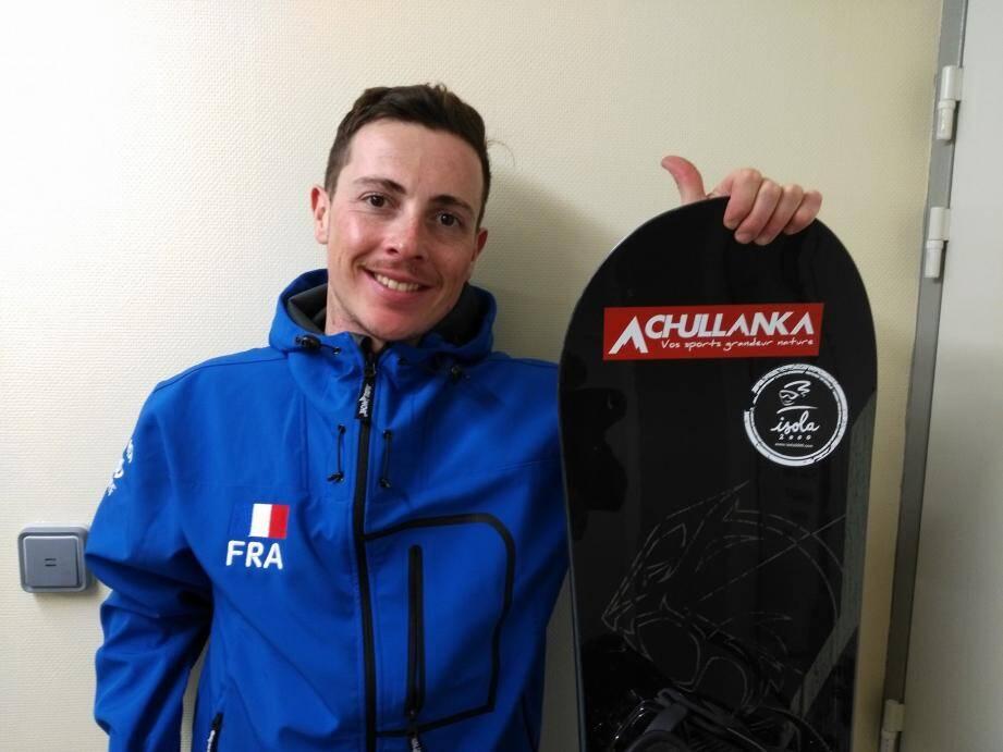 Le snowboardeur s'installe peu à peu parmi l'élite mondiale.     (D.R.)