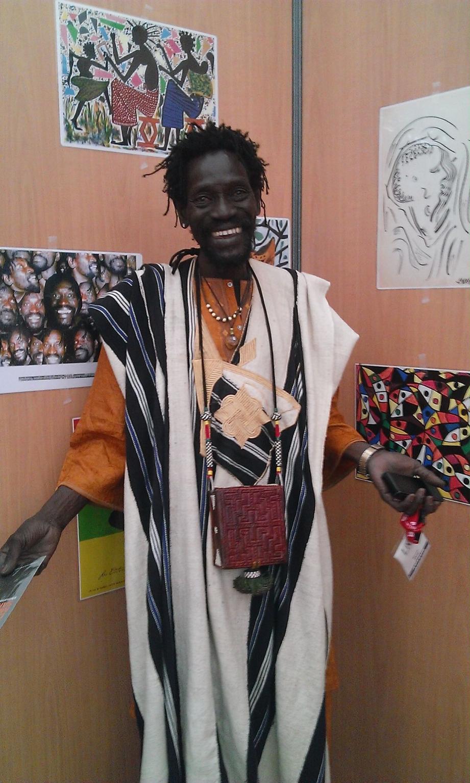 Momar Daye, conteur africain, rencontrera les scolaires.(D.R.)