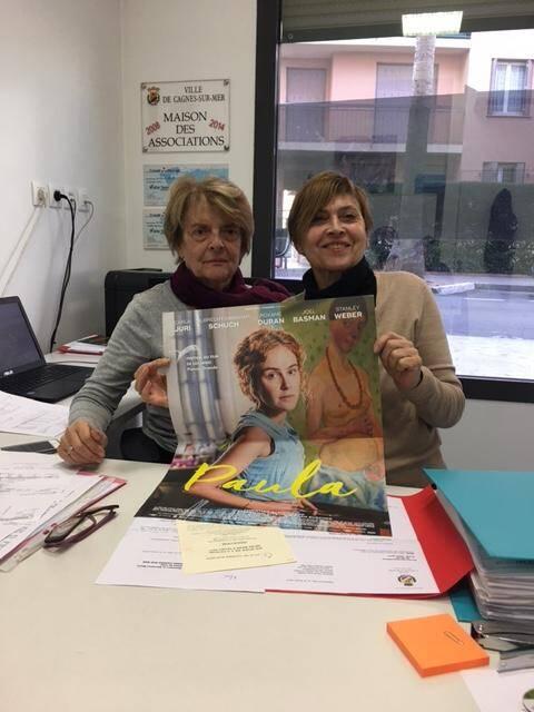 Marie-Ange Riger et Anne-Marie Chaminade présente le programme de la soirée.