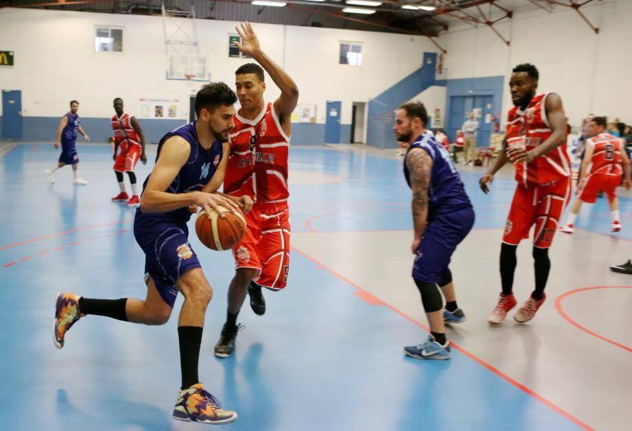 Les basketteurs dracénois n'ont vraiment pas à rougir de leur courte défaite face à l'ogre monégasque.