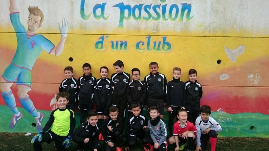 Les jeunes passionnés de foot se sont bien dépensés durant le stage au Devens.