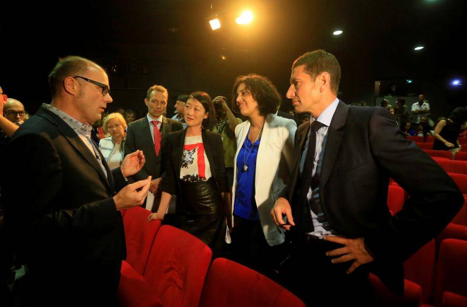 Fleur Pellerin et David Lisnard (ci-dessus réunis, en 2015, lors du Festival de Cannes) se sont rencontrés à maintes reprises au sujet du Festival international des séries.