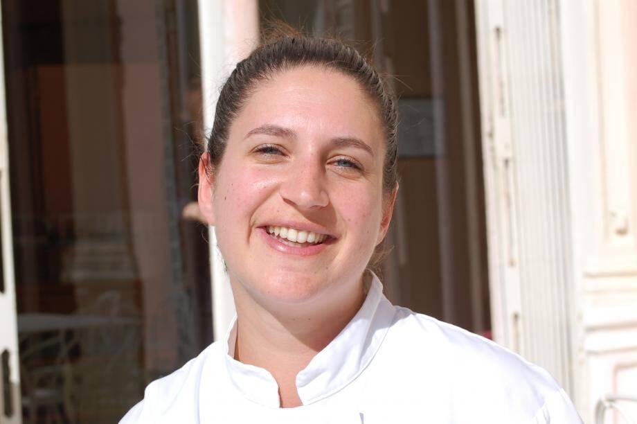 Aude Filipowski, 28 ans, est le nouveau visage des cuisines de la villa Ephrussi-de-Rotshchild.