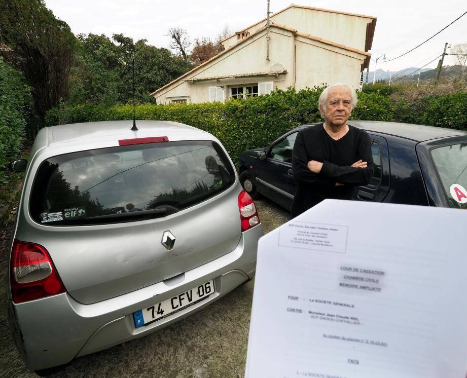 Jean-Claude Niel pour la deuxième fois en cassation afin de sauver sa maison et sa voiture.