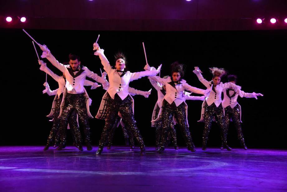 La troupe a remporté le grand prix sur la scène de l'Auditorium Rainier-III.(DR)