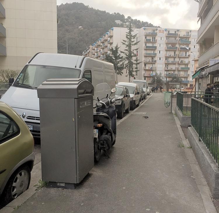 La boite aux lettre rue Guiglionda de Sainte-Agathe.