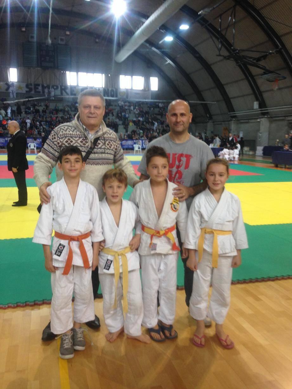 Les jeunes médaillés roquebrunois. (DR)
