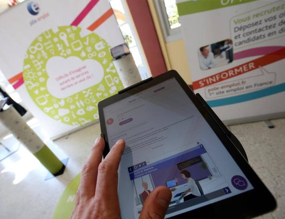 L'espace numérique, avec ses tablettes et son pôle vidéo, a particulièrement séduit les visiteurs pour cette 10e édition.